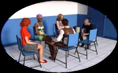 C'est une therapie de groupe et un travail sur la depression avec un psychologue clinicien
