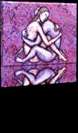 C'est un couple avec des problemes infertilite, de sexualite et en conflits
