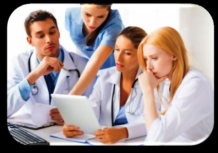 C'est une equipe dans des etudes en therapie de groupe avec une aide psychologique et un psychotherapeute