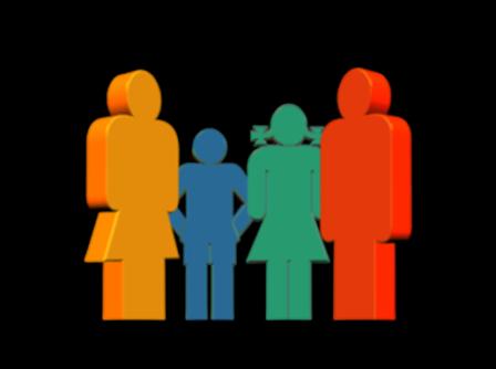 C'est une famille qui consulte en therapie familiale avec un psychotherapeute de famille